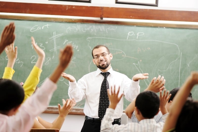 العمل في التدريس بمختف ربوع المملكة المغربية